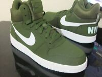 ORIGINAL ADULTS NIKE COURT BOROUGH MID CASUAL RETRO TRAINERS BOOTS UK SIZE 7.5
