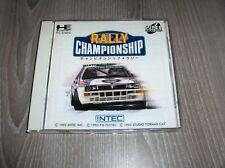 NEC PC ENGINE - SUPER CD ROM - RALLY CHAMPIONSHIP