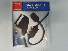 CAVO SCART CON A/V BOX COMPATIBILE PLAY STATION