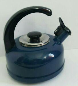 Danske Whistling G Tea Kettle Navy tested whistles