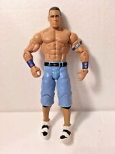 """2011 WWE  JOHN CENA 7"""" Wrestling Action Figure  with Blue Arm Bands and Trunks"""