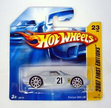 Hot Wheels Ferrari 250 Lm #023 First Editions Diecast Car Short Card Moc 2007