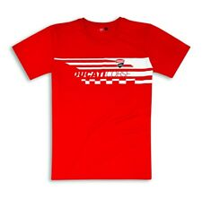 DUCATI CORSE RED CHECK T-SHIRT X-LARGE 987697396
