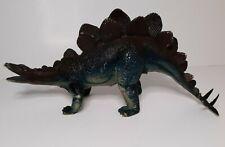 "Vintage Dur Mei Stegosaurus 1986 Dinosaur Toy Model Ukrd 15"" Long"