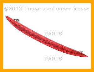 Reflector - Bumper Cover (Red) Genuine BMW For: BMW 528i 528xi 535i 535xi 550i