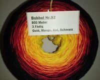 Farbverlaufsgarn 12,50€ // 1000m 3-fädig Nomis Valent Dreiecktuch-Bobbel