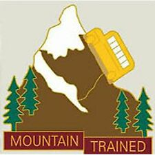 "Exclusive, School Bus Driver Pin ""Mountain Trained"" Lapel/Hat"