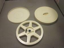 Dual 8 Movie Film Reel Plastic Case AUTOMATIC PICK UP