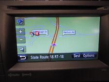 AM FM XM RADIO CD PLAYER NAVIGATION RADIO 57032 GPS BLUETOOTH PHONE OAK030