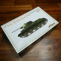 Dragon Cyber Hobby T-34 / 76 STZ Mod 1941 Tank 1:35 Scale model Kit Unbuilt