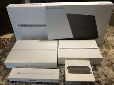 Lot of 6 Apple Retail Boxes -Empty + inside packaging