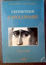 CAMPA, L - L'esthétique d'Apollinaire.