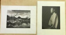 Charles K. Davenport: 2 photographs Prints, 1 Signed-Student Of Ansel Adams