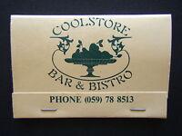 COOLSTORE BAR & BISTRO ERAMOSA & MOOROODUC RD 059 788513 MATCHBOOK
