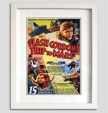 Flash Gordon Comic cartel impresión