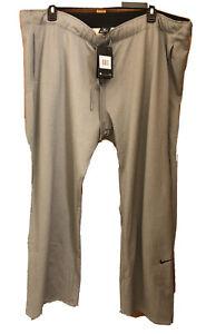 Nike Therma Dri-Fit Womens Cool Gray Plus Size 2X Fleece Training Pants $55 NEW