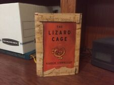 The Lizard Cage. Karen Connelly Signed True 1st Hc Ptg. Canadian Very Fine