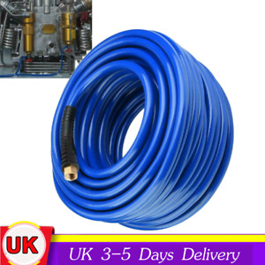 """30M Flexible Pneumatic PVC Hose with 1/4""""BPS with PVC sheath for Air Compressor"""