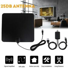 Antena de TV Digital HD 80 Miles Range Amplifier Signal Booster TV Receiver