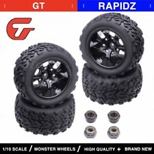 4pcs RC Off Road Monster Truck Tire & Wheel Rim For RC Himoto 1/10 Fit HSP HPI