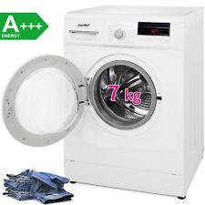 Comfee A+++ 7 kg Waschmaschine Edelstahl Trommel AquaStop LED-Display 1400 U/min