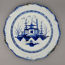 Liverpool Pearlware Blue and White Chinese Pattern Plate 1785 - 1810