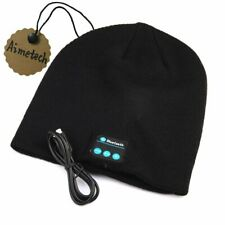 Bluetooth Beanie Hat Cap Wireless Music Knitted Winter Hat with Stereo Speaker