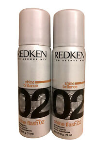 Redken Shine Flash 02 Glistening Mist 2.1 OZ set of 2