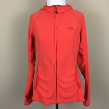 The North Face Women's Size Medium TKA 100 Texture Masonic Hoody Orange