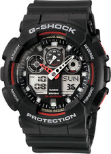 Casio G-Shock GA100-1A4 XL Men's Black Resin Band Watch New with Tags