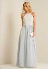 Chi Chi Petite Kiri Dress Blue Size UK 14 rrp £74.99 DH084 HH 02