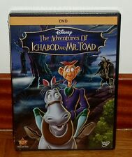 THE ADVENTURES OF ICHABOD AND MR.TOAD DISNEY Nº 11 DVD NEW SEALED (UNOPENED)