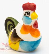 Rooster gzhel porcelain figurine handmade in Russia