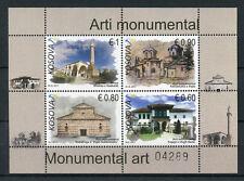 Kosovo 2017 MNH Religious Monuments Art 4v M/S Architecture Stamps