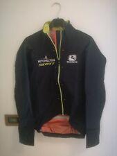 Mitchelton scott giordana giacca antipioggia monsoon heavy rain jacket M