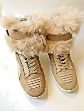 Puma ALEXANDER McQUEEN JOUSTESSE Hi Mid Sneaker Boot Shoe WEAR 2 WAYS Size 8.5