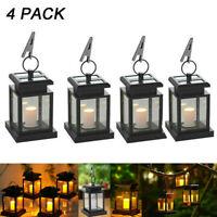 4Pcs x Outdoor Solar Lantern Hanging Light LED Waterproof Lamp Home Garden Decor
