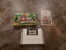 Wario Land GBA Nintendo Game Boy Advance Japan original box Mario yoshi Luigi