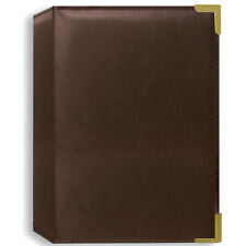 Pioneer Photo Albums Oxford Brass Corner Photo Album - Brown Holds 24 4X6