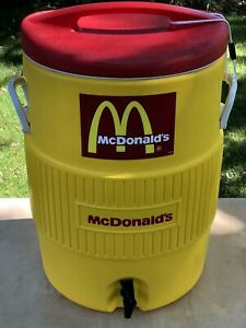 Vintage McDonald's IGLOO Commercial 10 Gallon Drinking Water Cooler / Clean