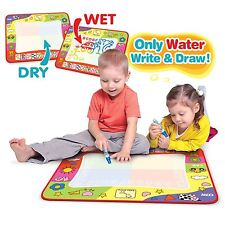 Cute Kids Aqua Doodle Drawing Mat Toy Water Writing Painting Board Magic & Pen