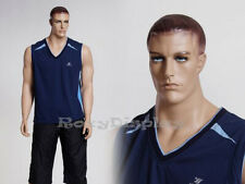 Male Fiberglass Realistic Mannequin Dress Form Display #Mz-Matt