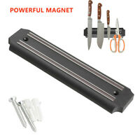 Magnetic Knife Holder Strip Stainless Steel Kitchen Wall Mounted Organizer Tools
