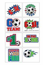 Soccer Tattoos - Soccer Party Supplies - Birthday Party Sports Soccer Football