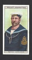 WILLS - NAVAL DRESS & BADGES - #36 PETTY OFFICER