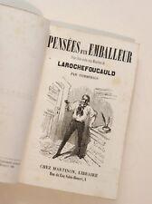 1851 Commerson Comique citations burlesques bouffonnerie humour Nadar assez rare