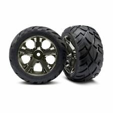Traxxas Black All-Star Wheels, Anaconda Tires Assembled TRA3777A