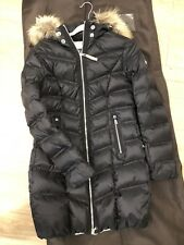 Bogner Puffer ( Winter Jacket ) With Racoon Fur , Size 6 , NEW