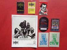 TESLA,Great White,promo photo,7 Backstage passes,Rare Very Old Originals,