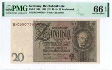 GERMANY 10 REICHS MARK 1929 P 180 XF